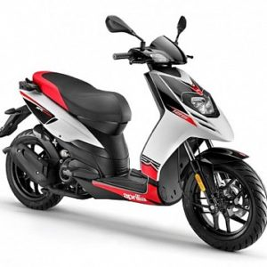 APRILIA SR MOTARD 125 scooter 125 to hire in Puerto santiago